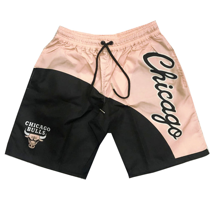 "Nostalgic Club ""Chicago"" Crimson Tint Trunks"