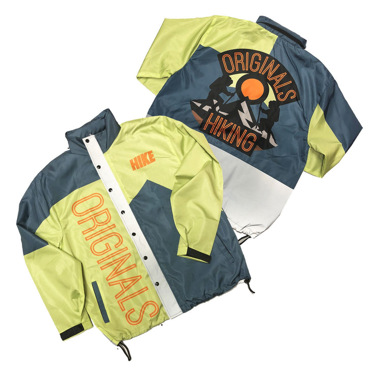 "Originals Hiking ""Reflective"" Windbreaker Jacket ""Frozen Yellow"""