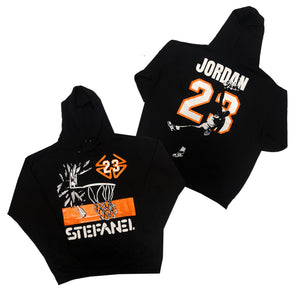 "Nostalgic Club ""Shattered Backboard"" Hoodie"