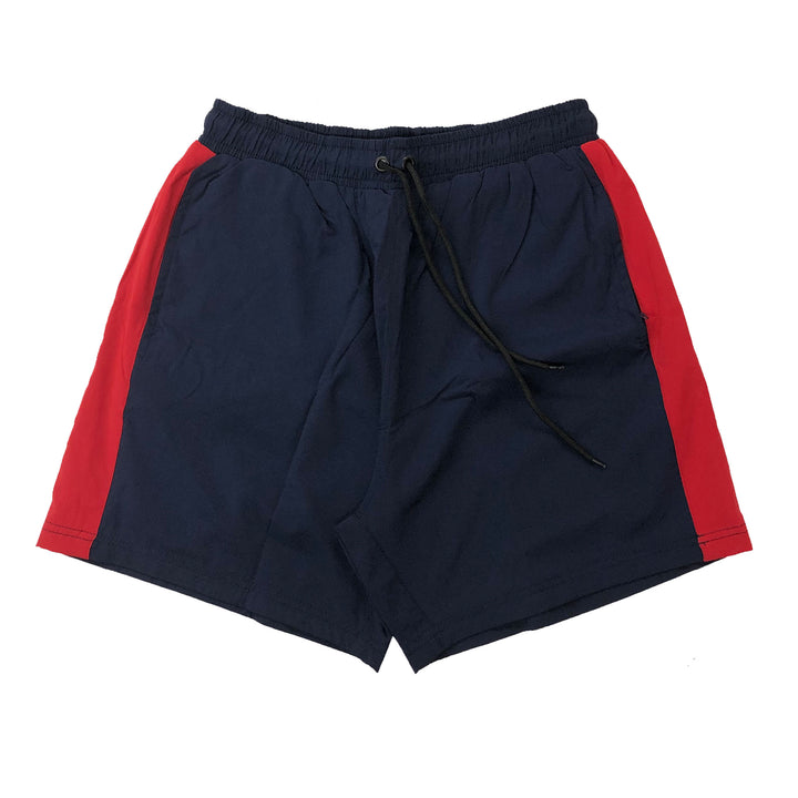 "ByKiy Stretchbreaker Short ""Navy/Red"""
