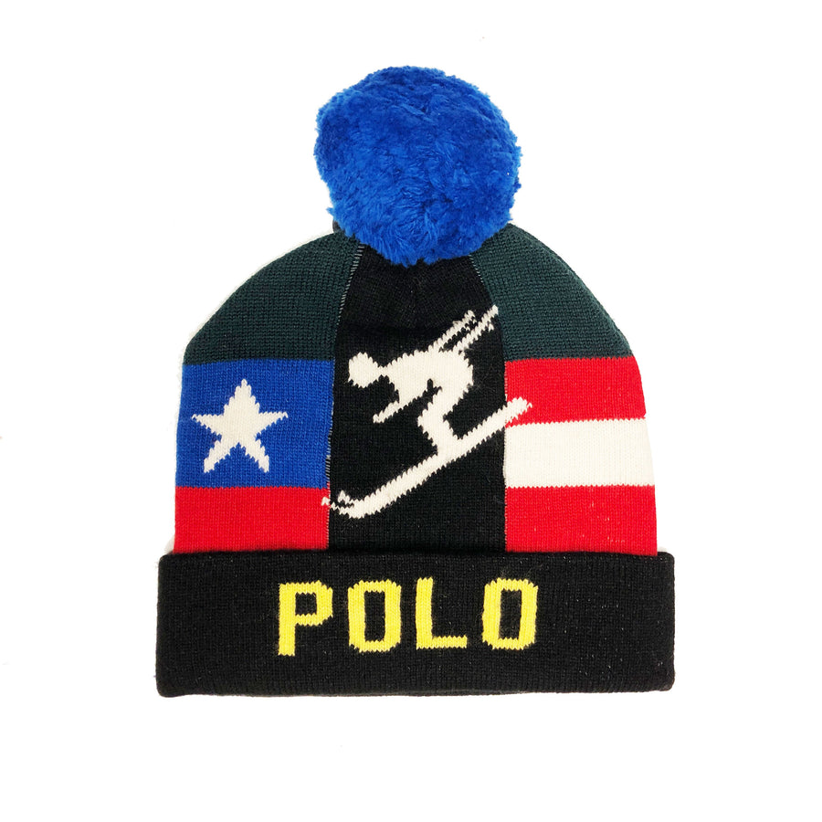"Ralph Lauren Polo ""Down Hill Ski"" Beanie"