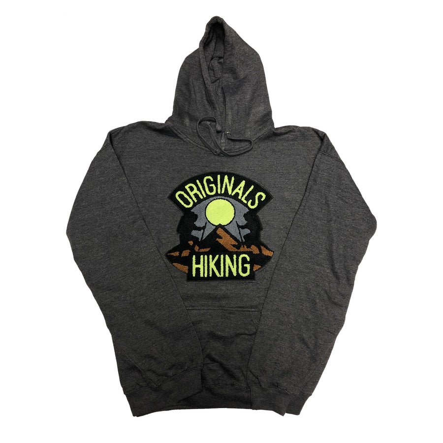 "Originals Hiking Series ""Mauve"" Smoke Dark Grey Hoodie"