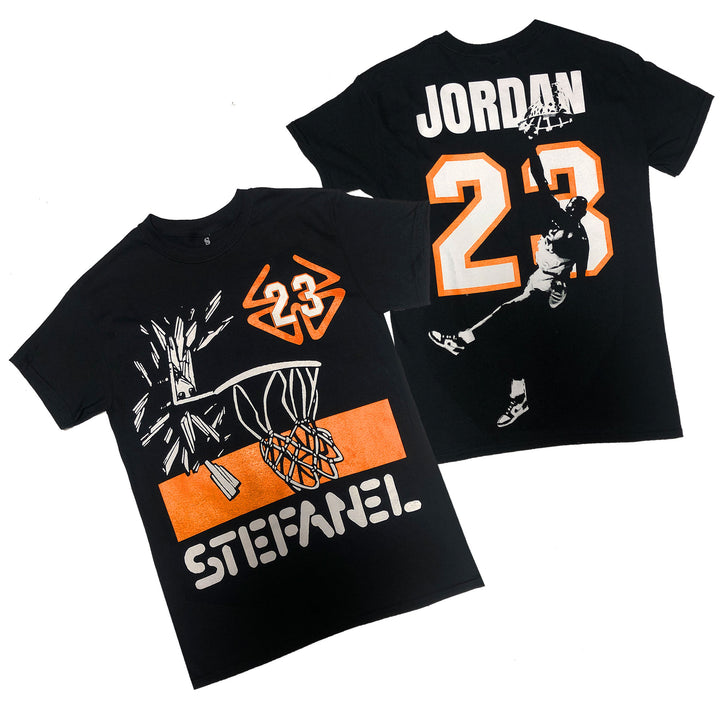 "Nostalgic Club ""Shattered Backboard"" Tee"