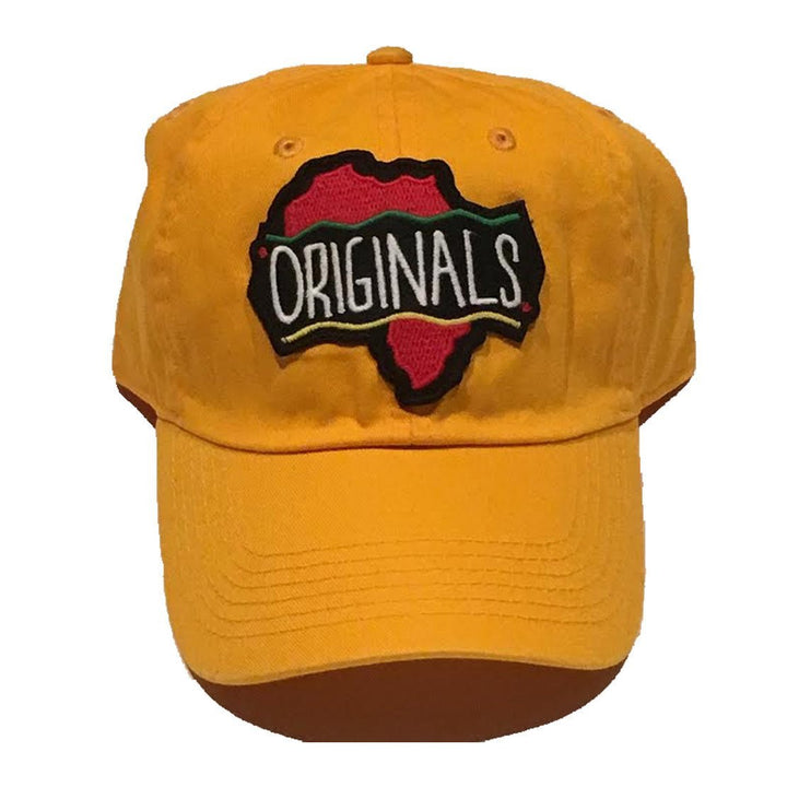 "Originals ""African"" Dad Hat ""Yellow"""
