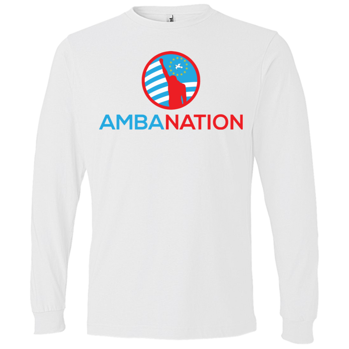 Mens' AmbaNation Lightweight Long-sleeved  T-Shirt