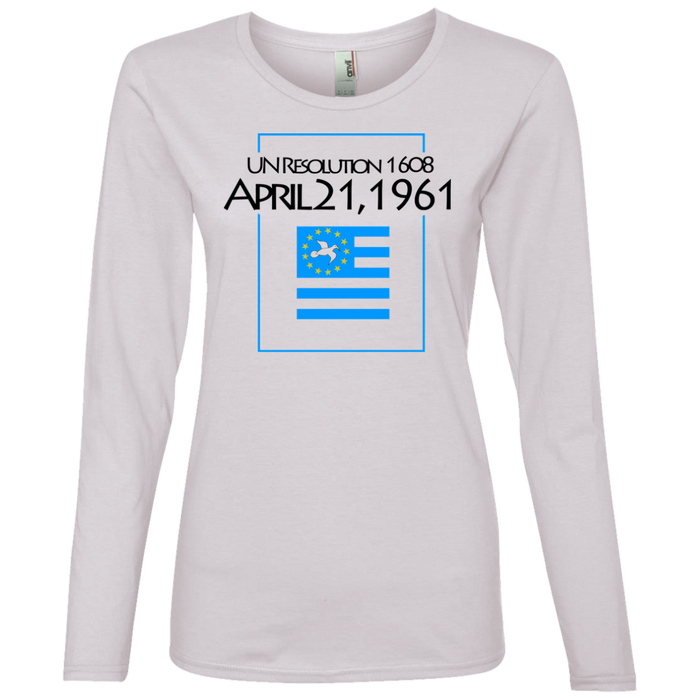 Ladies' 1608E Lightweight Long-sleeved T-Shirt