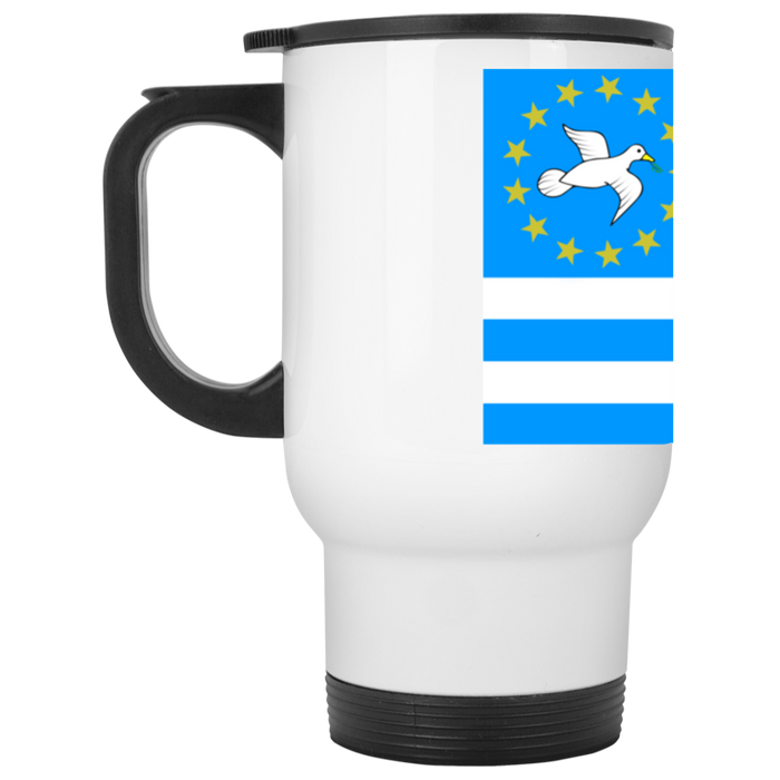 Ambazonia Flag1 White Travel Mug