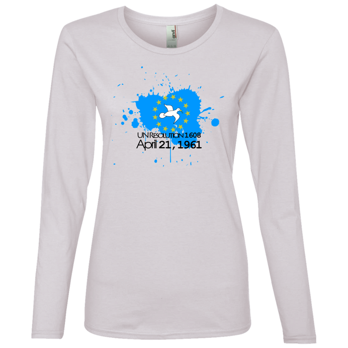 Ladies' 1608B Lightweight Long-sleeved T-Shirt