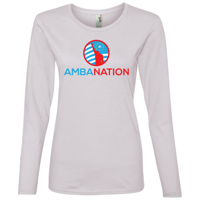 Ladies' AmbaNation Lightweight Long-sleeved T-Shirt