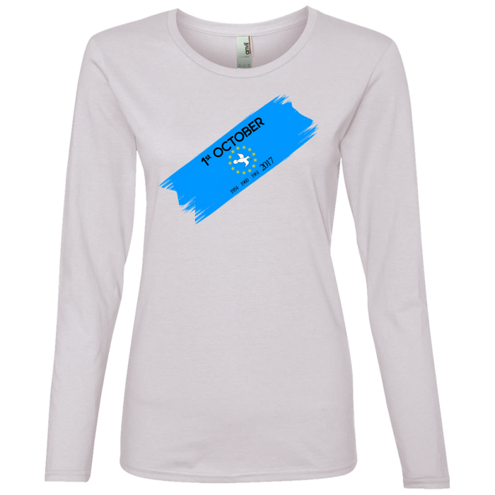Ladies' Oct1B Lightweight Long-sleeved T-Shirt