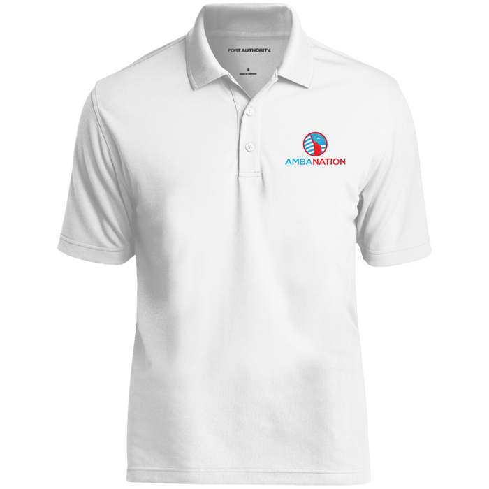 AmbaNation Dry Zone UV Micro-Mesh Polo