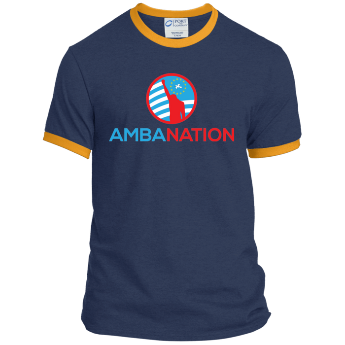 Men's AmbaNation Ringer Tee