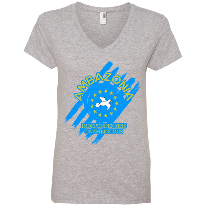 Ladies' UABG2 V-Neck T-Shirt