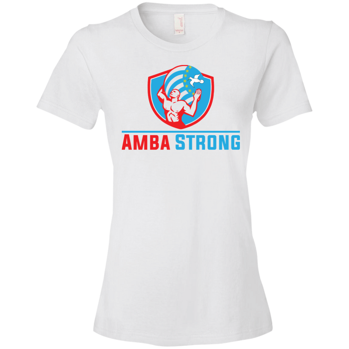 Ladies' AmbaStrong Lightweight T-Shirt 4.5 oz