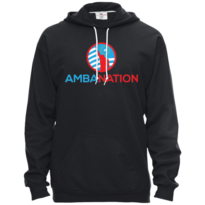 Unisex AmbaNation Pullover Hooded Fleece