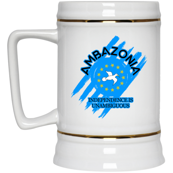 Ambazonia Independence Beer Stein 22oz.