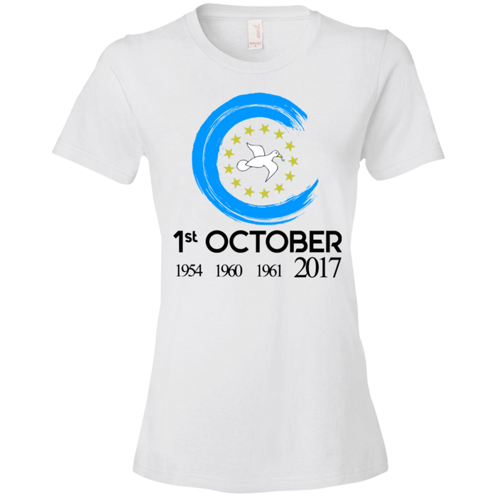 Ladies' Oct1A Lightweight T-Shirt