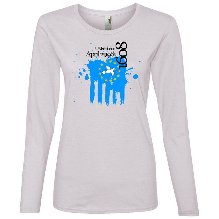 Ladies' 1608C Lightweight Long-sleeved T-Shirt