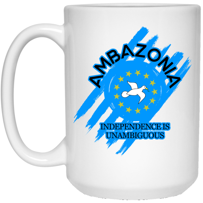 Ambazonia Independence 15 oz. White Mug