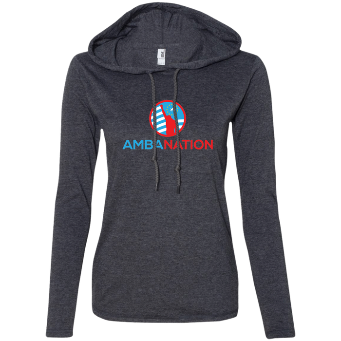 Ladies' AmbaNation Long-sleeved T-Shirt Hoodie