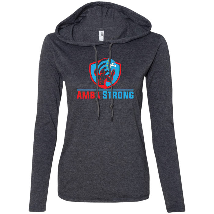 Ladies' AmbaStrong Long-sleeved T-Shirt Hoodie