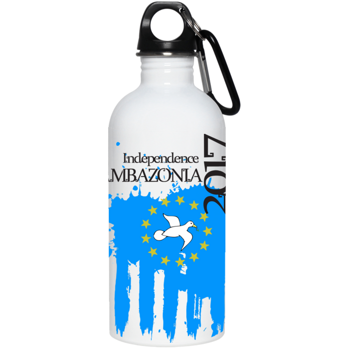 Ambazonia Independence 20 oz. Stainless Steel Water Bottle