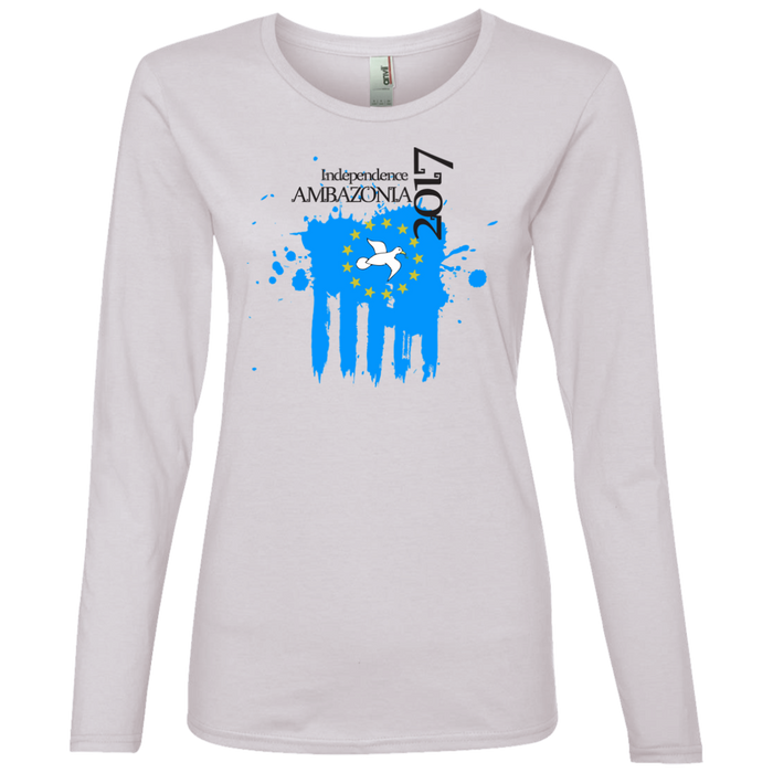 Ladies' IND1 Lightweight Long-sleeved T-Shirt