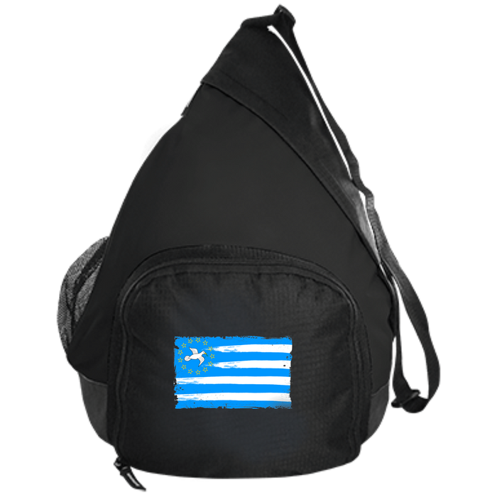 Ambazonia Flag Port Authority Active Sling Pack