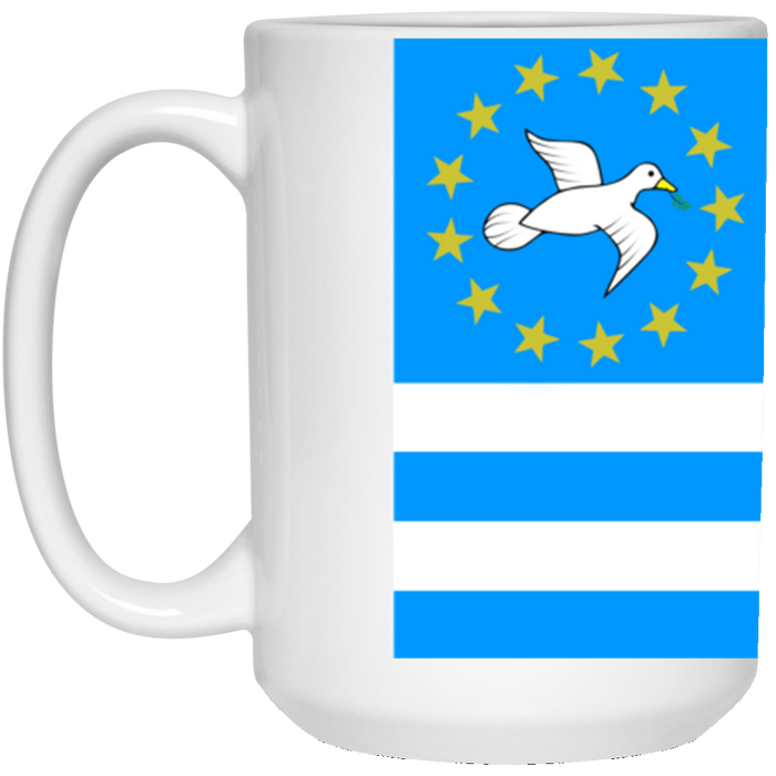 Ambazonia Flag1 15 oz. White Mug