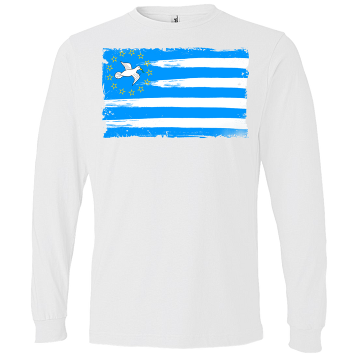 Mens' FLAG1 Lightweight Long-sleeved T-Shirt