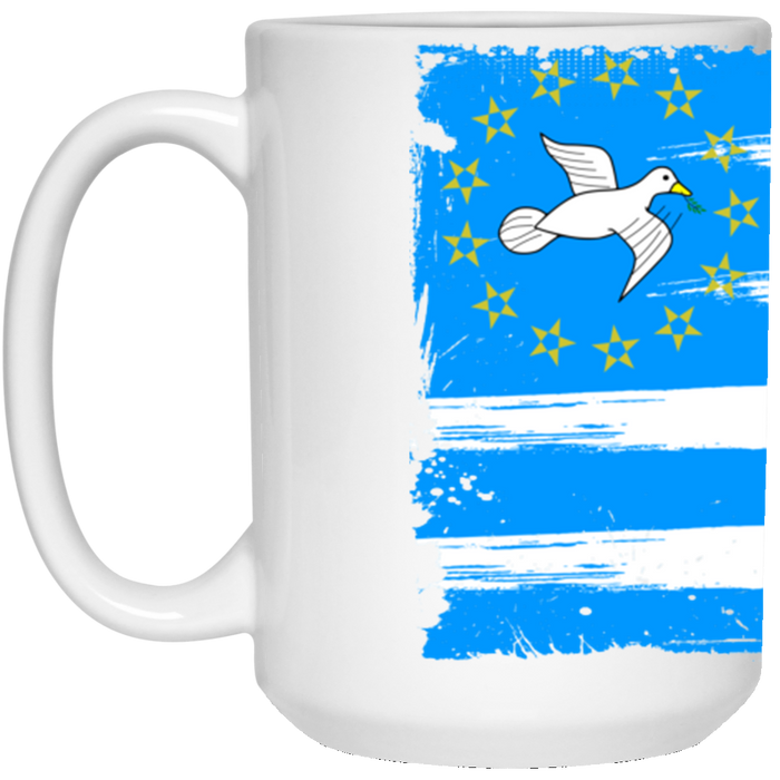 Ambazonia Flag215 oz. White Mug