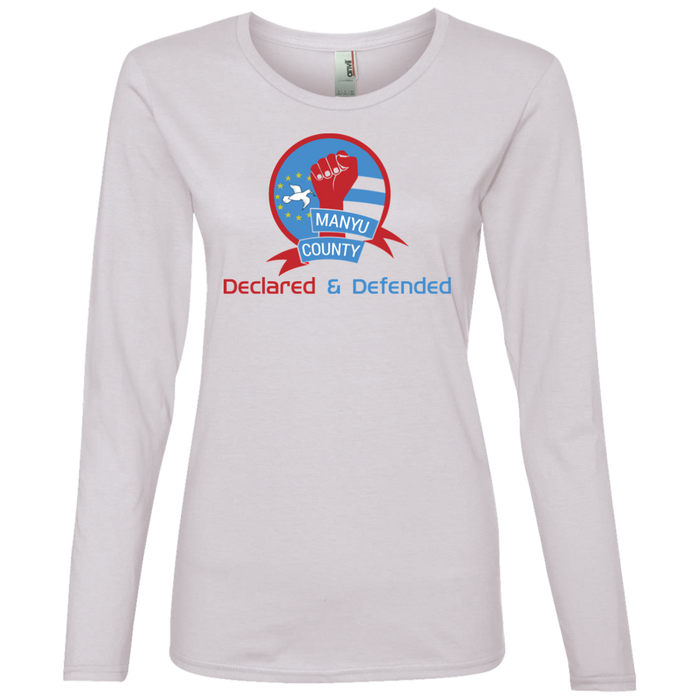 Manyu Ladies' Lightweight LS T-Shirt