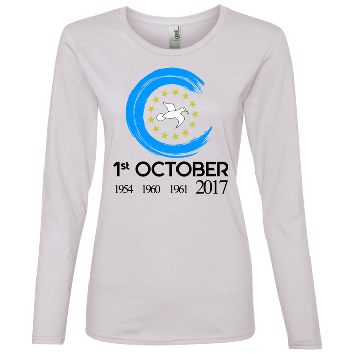 Ladies' Oct1A Lightweight Long-sleeved T-Shirt