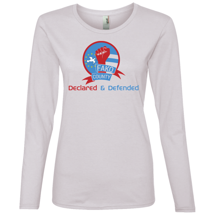 Ladies' Fako County Longsleeved T-Shirt