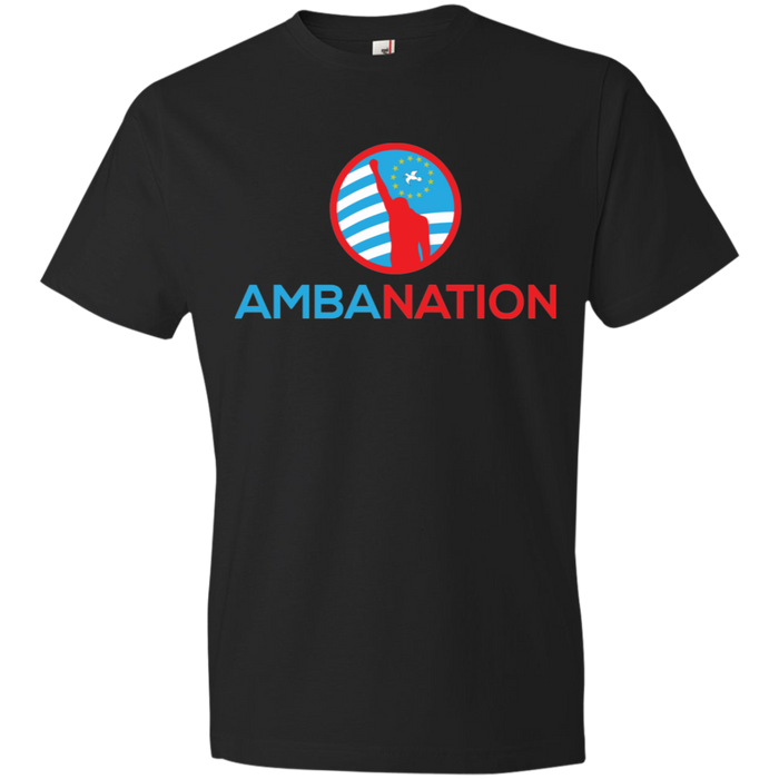 Men's AmbaNation Round-neck Lightweight T-Shirt
