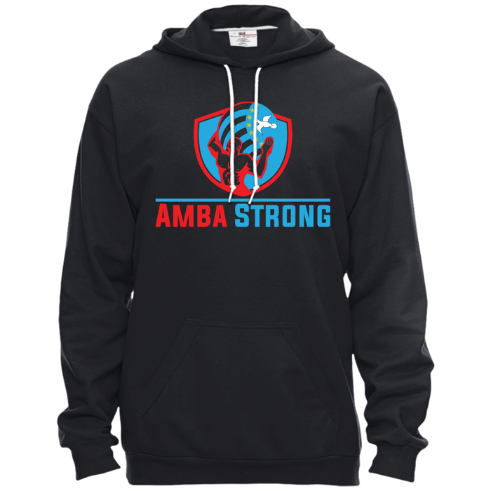 Unisex AmbaStrong Pullover Hooded Fleece
