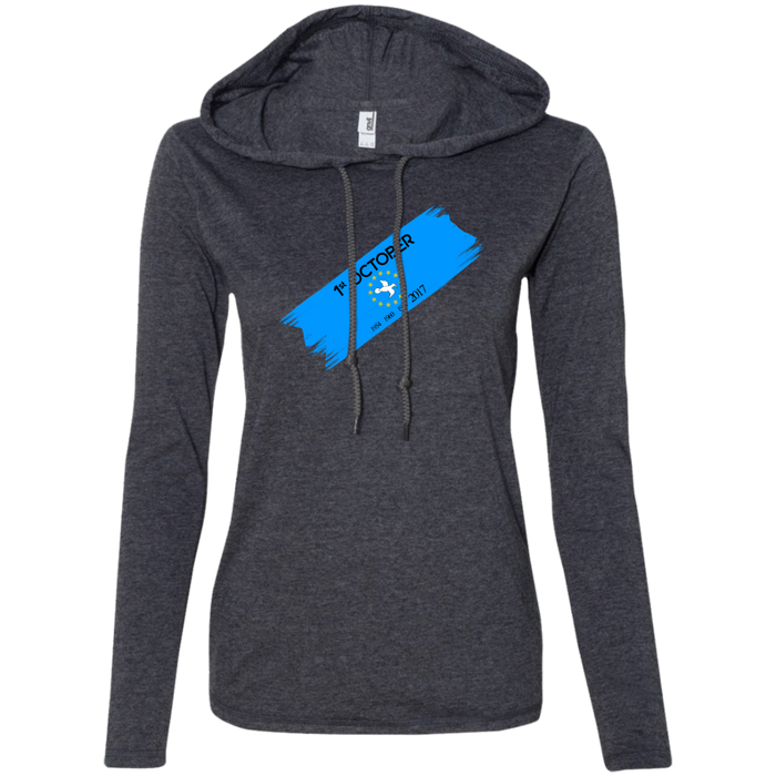 Ladies' Oct1B Long-sleeved T-Shirt Hoodie