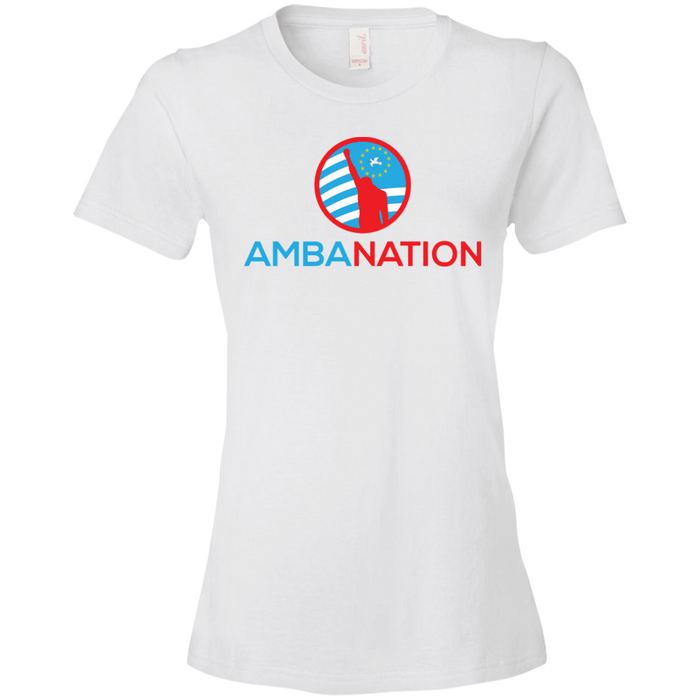 Ladies' AmbaNation Lightweight T-Shirt