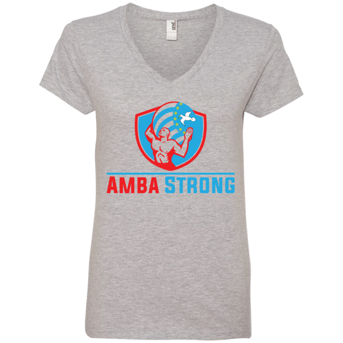 Ladies' AmbaStrong V-Neck T-Shirt