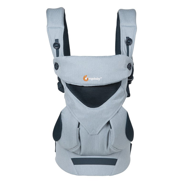 Mehka nosilka Ergobaby 360 All Positions Baby Carrier Cool Air Mash - Chambray