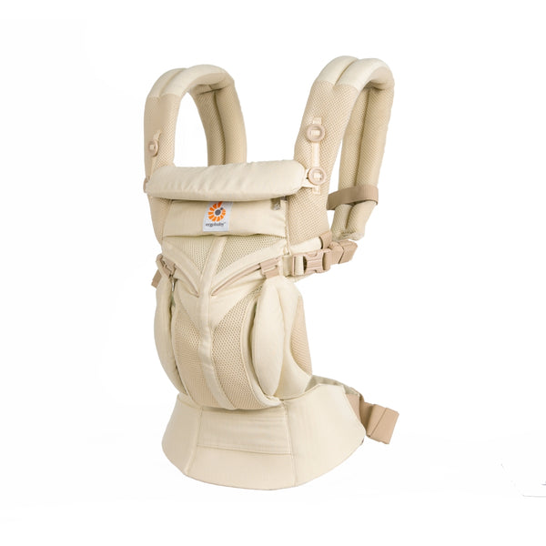 Mehka nosilka Ergobaby Omni 360 Cool Air Mesh - Natural Weave