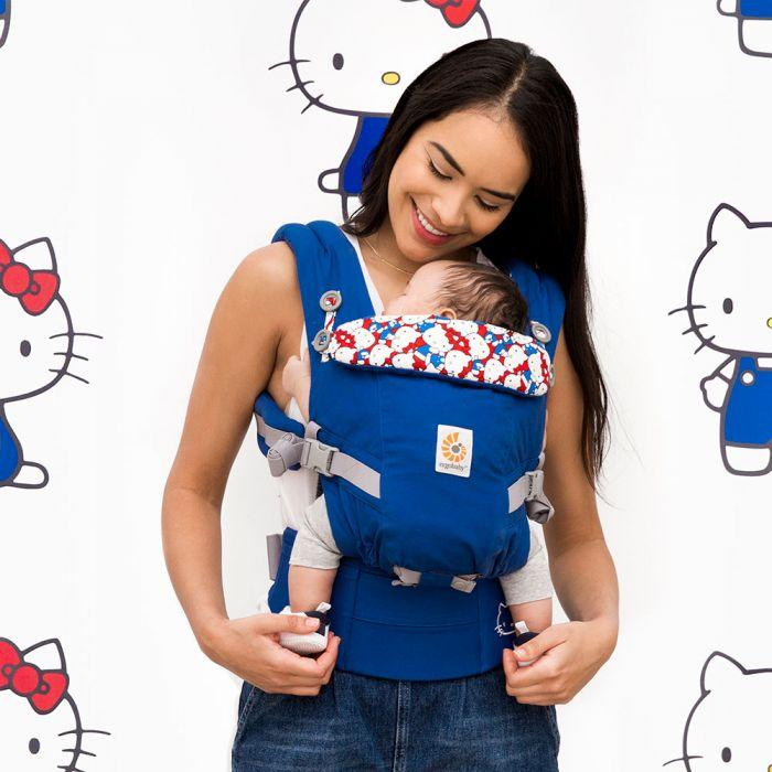 Mehka nosilka Ergobaby Omni 360 - Hello Kitty Classic (Limited Edition)