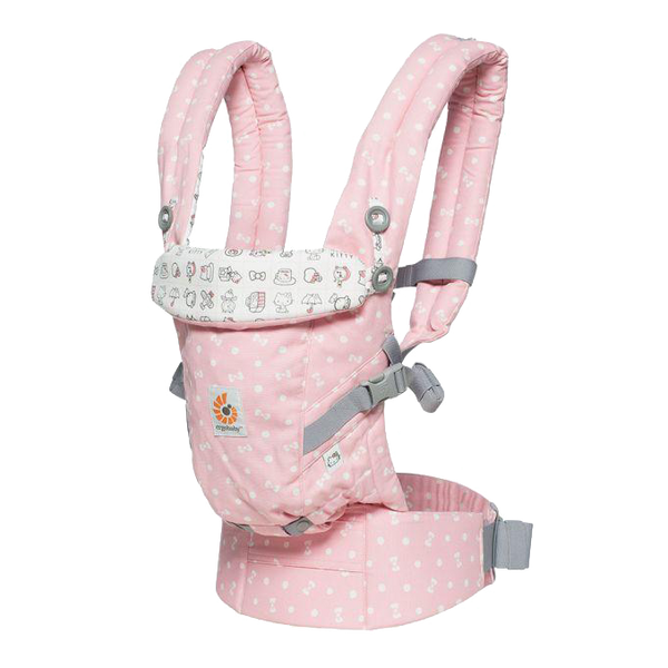 Mehka nosilka Ergobaby Adapt Baby Carrier - Hello Kitty Play Time (Limited Edition)