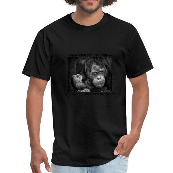 Funny Chimp Men's T-Shirt - D&B Zensation