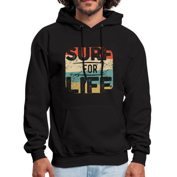 Surf For Life Hoodie - D&B Zensation