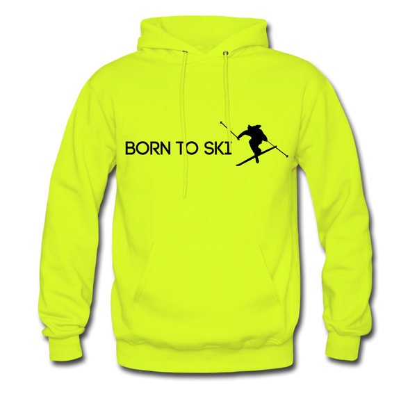 Born To Ski Hoodie - D&B Zensation