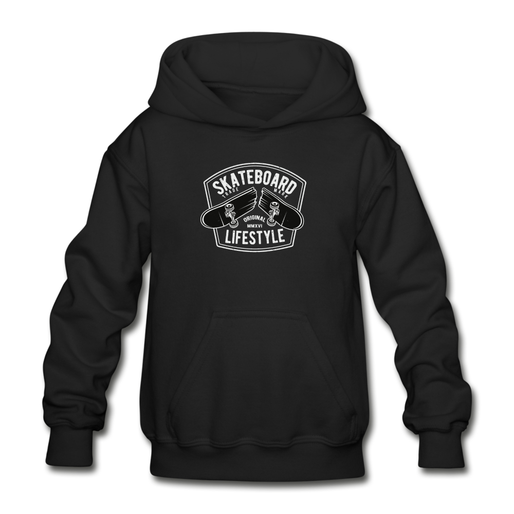 Skateboard Lifestyle Youth Hoodie - D&B Zensation