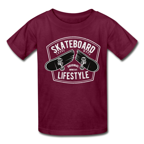 Skateboard Lifestyle Youth T-Shirt - D&B Zensation