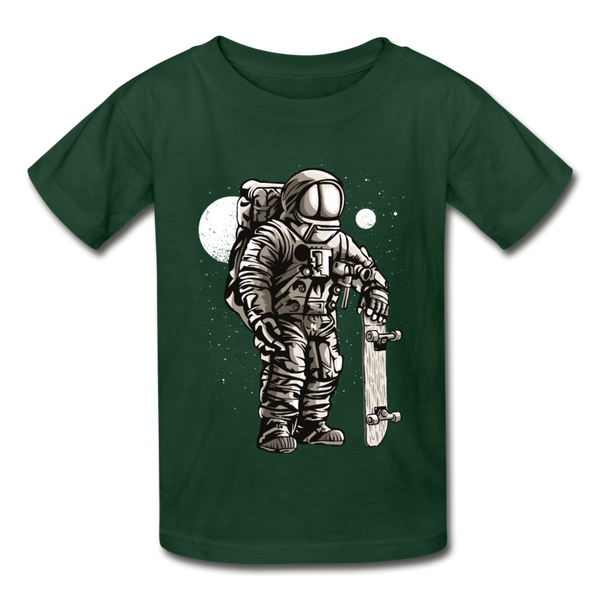 Astronaut Skater Youth T-Shirt - D&B Zensation