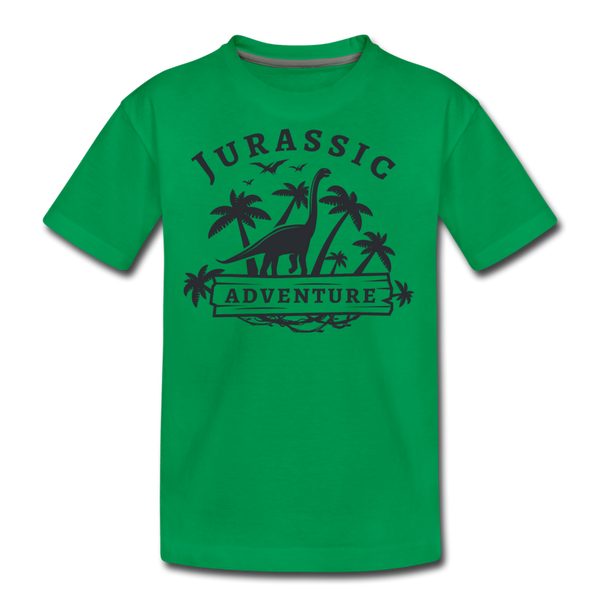 Jurassic Adventure Kids' Premium T-Shirt - D&B Zensation